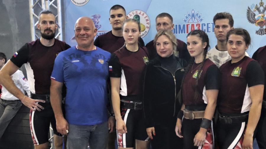 Команда Калужской области победила в Кубке России по гиревому спорту