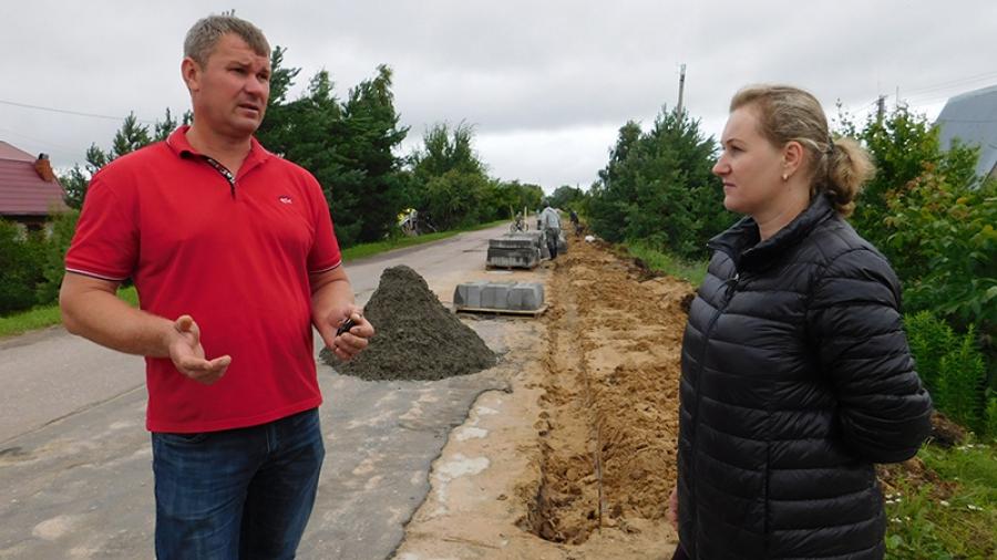 25 жителей деревни Потресово в окрестностях Обнинска лишают съездов с дороги к своим домам