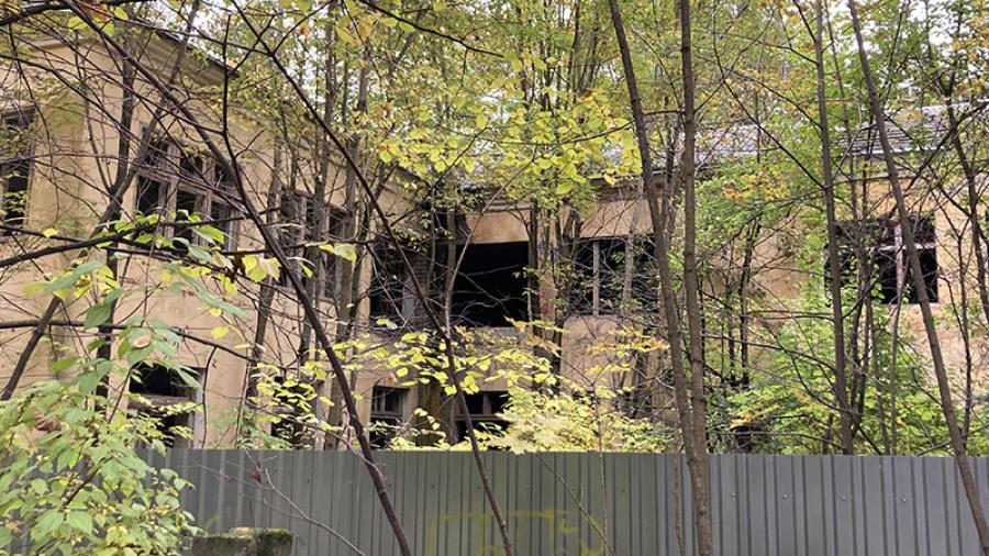 Здание бывшего санатория «Здоровье» в Обнинске снесут