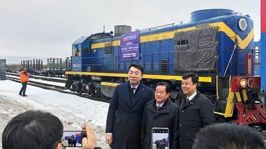 В Калужскую область прибыл первый поезд из китайского города Шицзячжуан