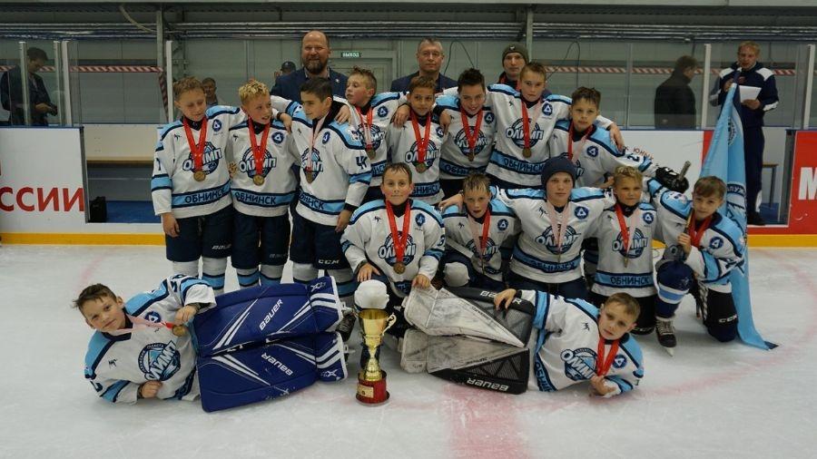 Обнинские юные хоккеисты стали обладателями «Золотой шайбы»
