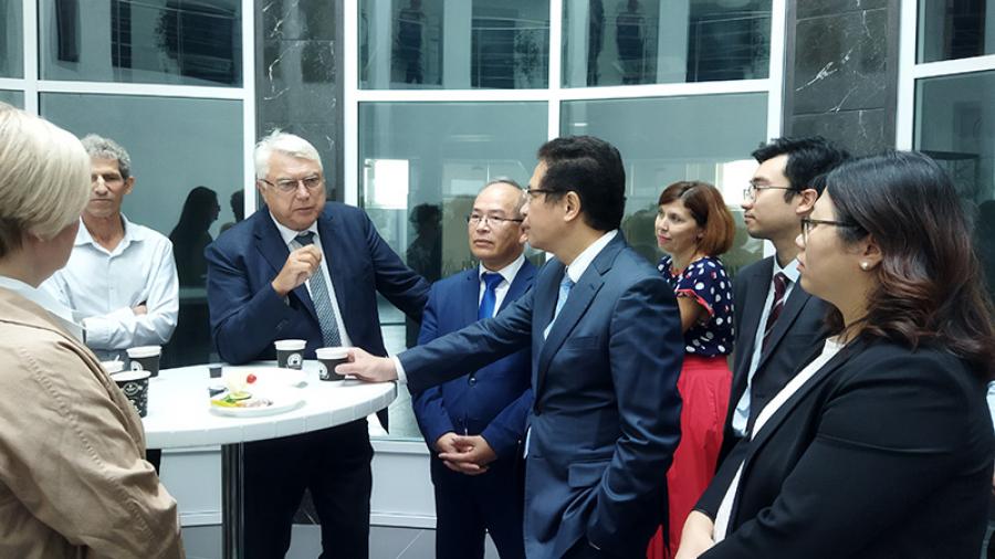 Больше всего посла Вьетнама в России в наукограде заинтересовала система образования и концепция «Город для жизни»