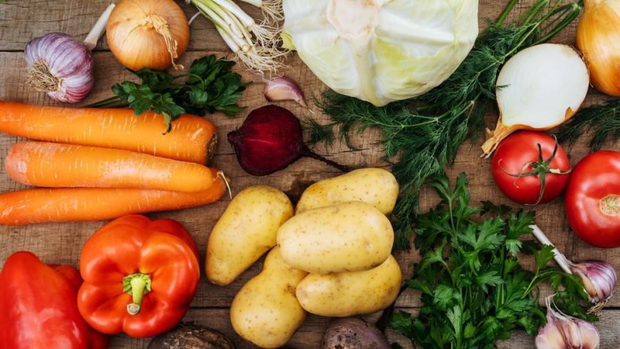 """Цена овощей """"борщевого набора"""" в Обнинске - в среднем 40-70 руб. за килограмм"""