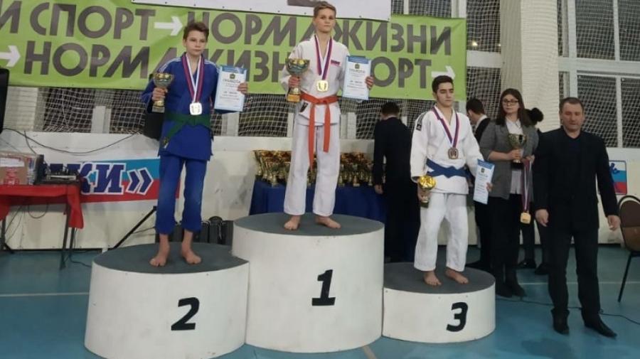 Обнинский дзюдоист завоевал «золото» на Кубке губернатора Калужской области