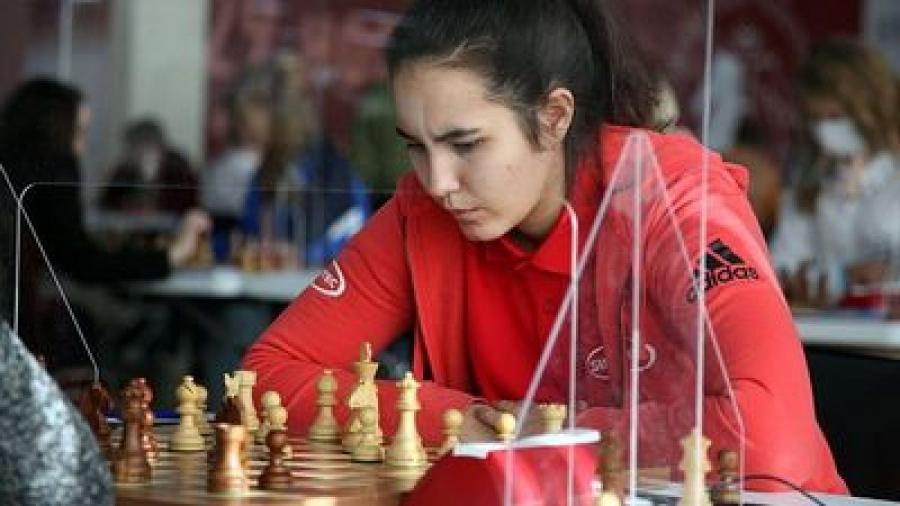 Анна Афонасьева выступила в командном чемпионате страны по шахматам в Сочи