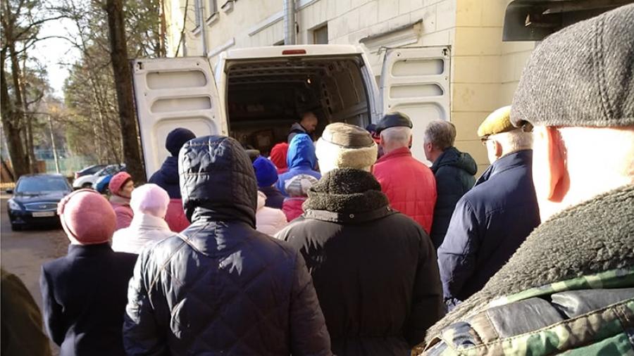 Фонд социального страхования РФ разыскивает обнинских инвалидов, которым средства реабилитации выдают прямо на улице, с машины