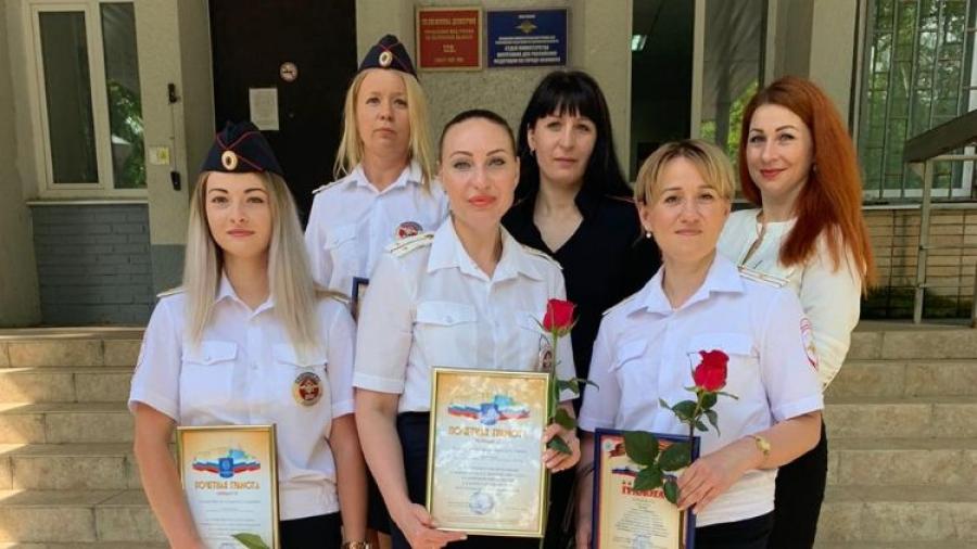Лучшим сотрудникам обнинского ГИБДД вручили почетные грамоты