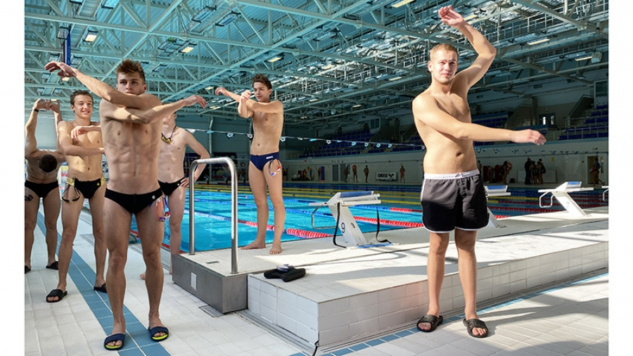 Сегодня в обнинском «Олимпе» стартовал Финал Кубка России по плаванию
