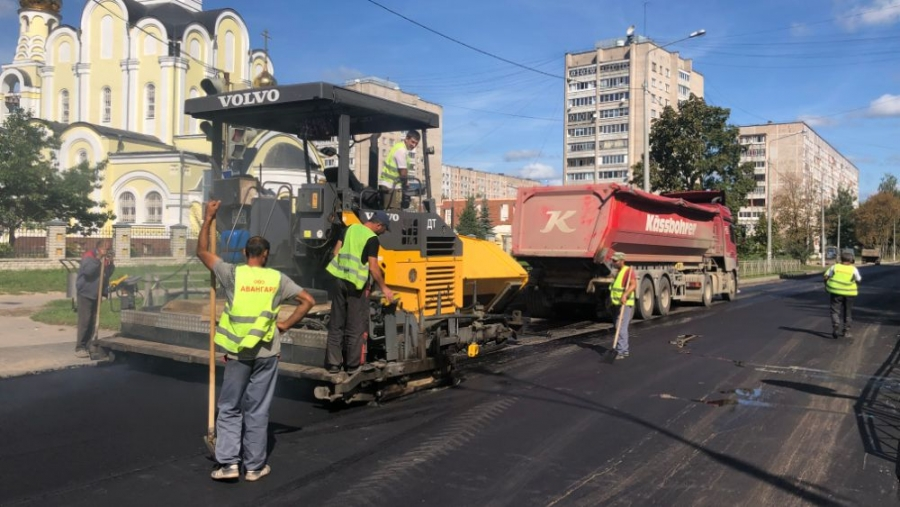В Обнинске выходит на финишную прямую дорожный ремонт по программе «Безопасные качественные дороги»