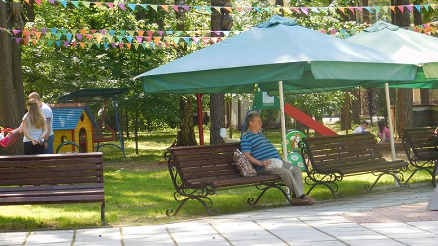 В Городском парке за время вынужденного простоя провели масштабное благоустройство
