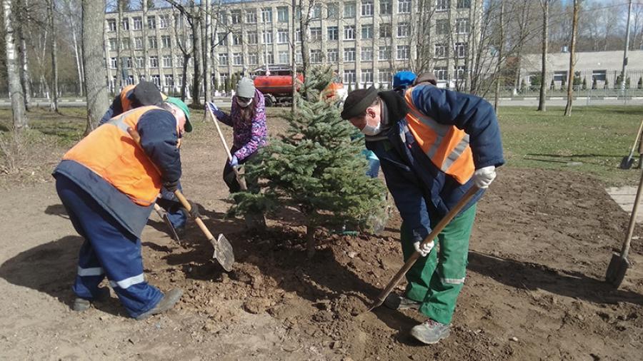 В Обнинске продолжается сезон весенней уборки