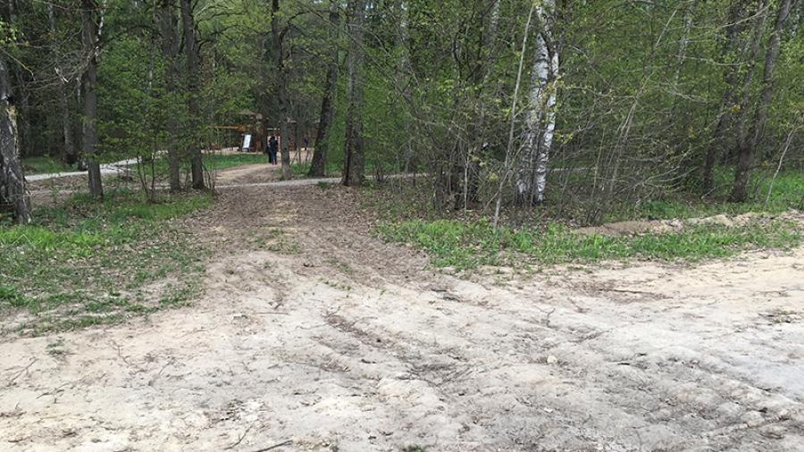 Обнинцы беспокоятся о сохранности детского городка в Гурьяновском лесу